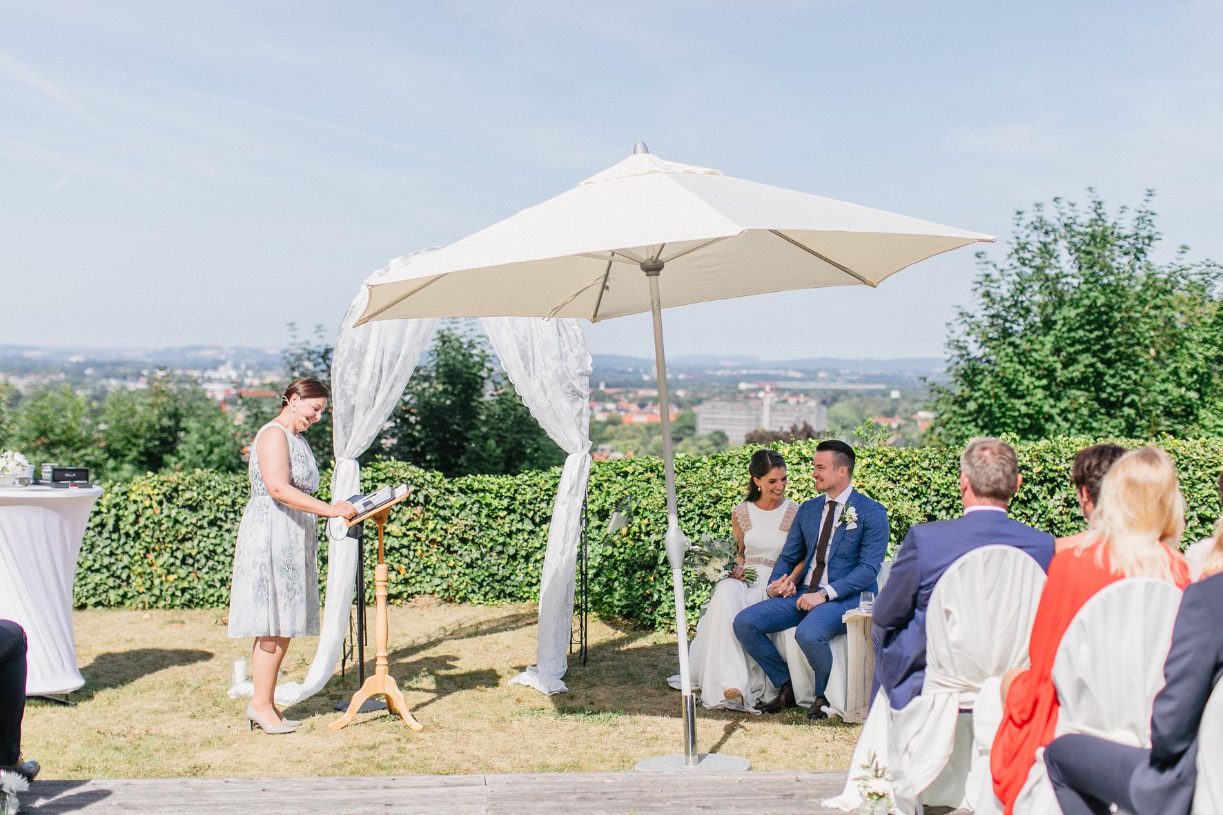 Hochzeitsrednerin Doreen Werding - Begrüßung