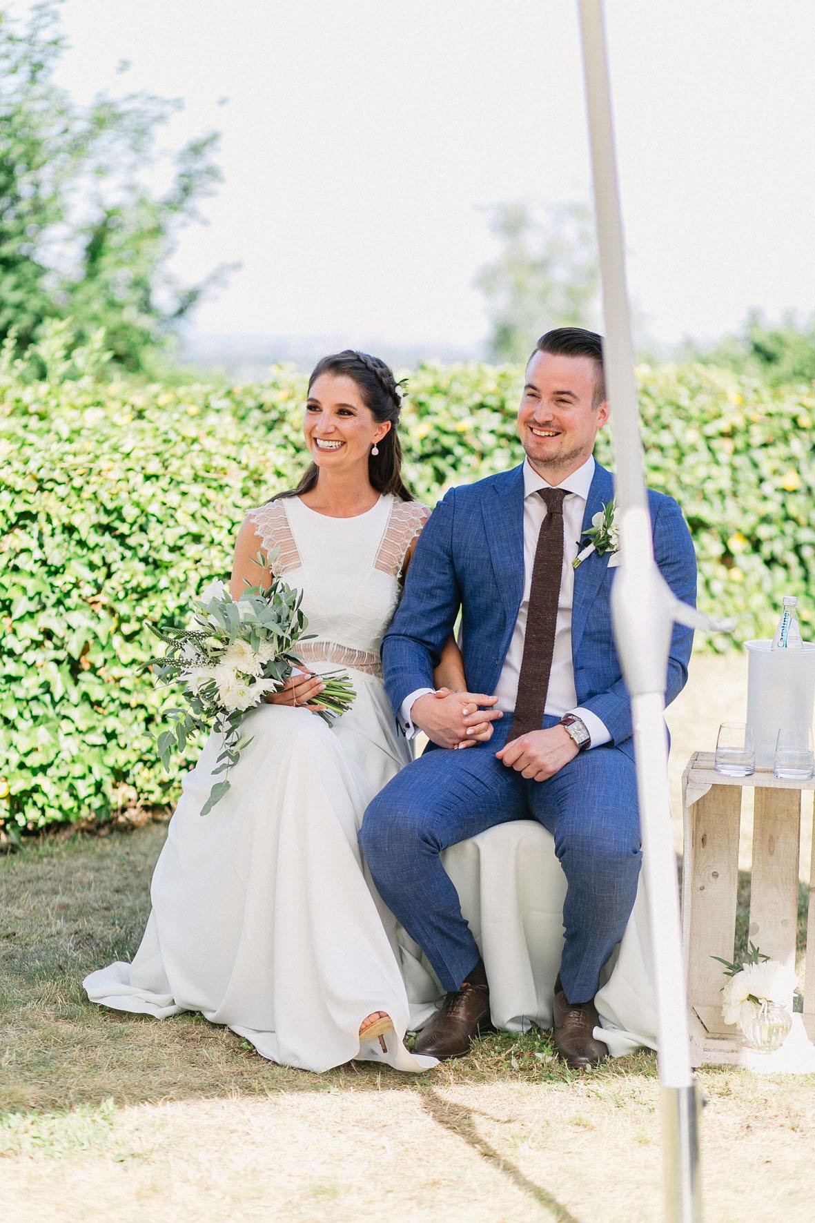 Hochzeitsrednerin Doreen Werding - Ein strahlendes Brautpaar