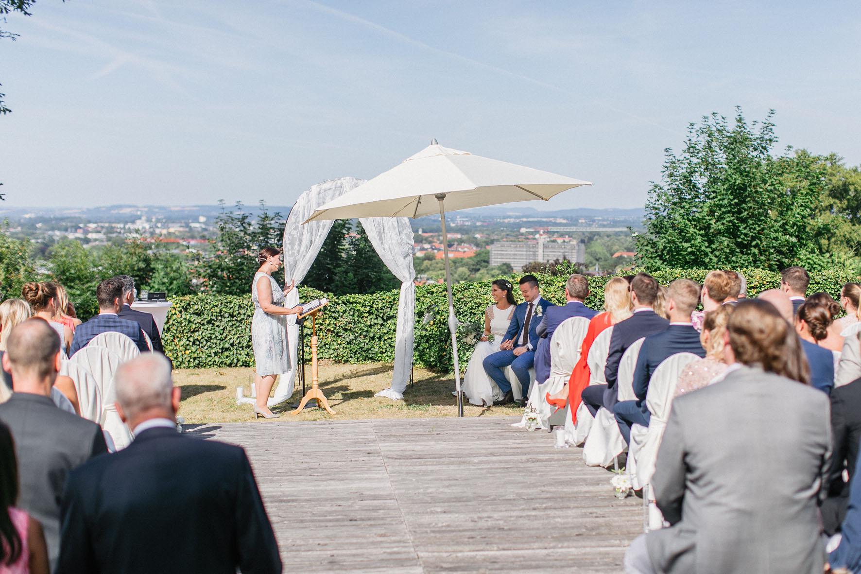 Hochzeitsrednerin Doreen Werding - Während der Traurede
