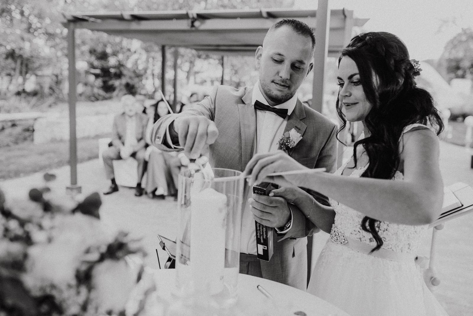 Hochzeitsrednerin Doreen Werding - Die Hochzeitskerze