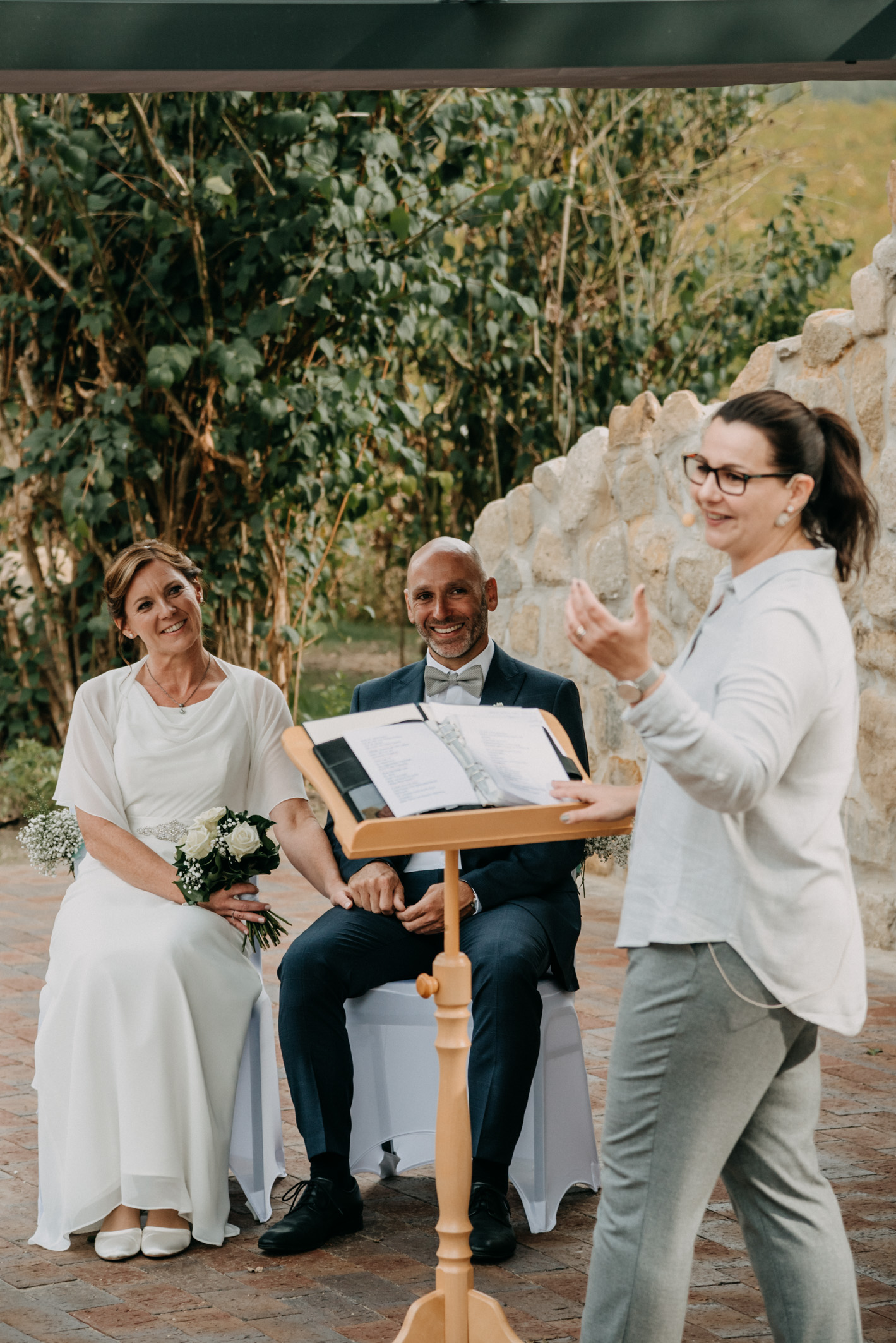 Hochzeitsrednerin Doreen Werding - Die Begrüßung und die Traurede