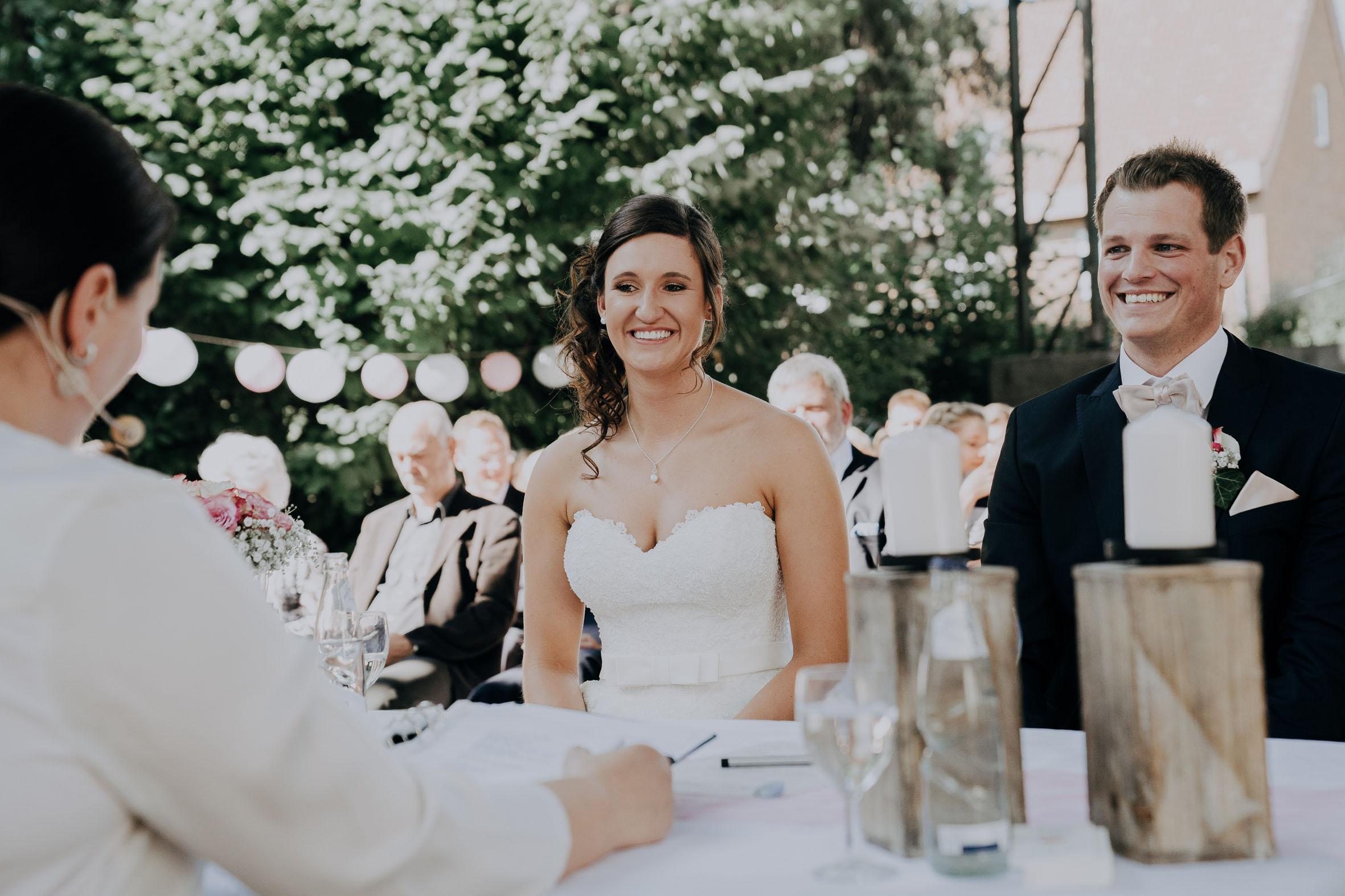 Hochzeitsrednerin Doreen Werding - Die Begrüßung