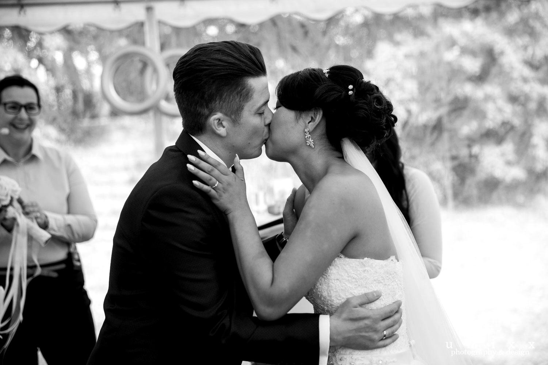 Hochzeitsrednerin Doreen Werding - Der innige Kuss
