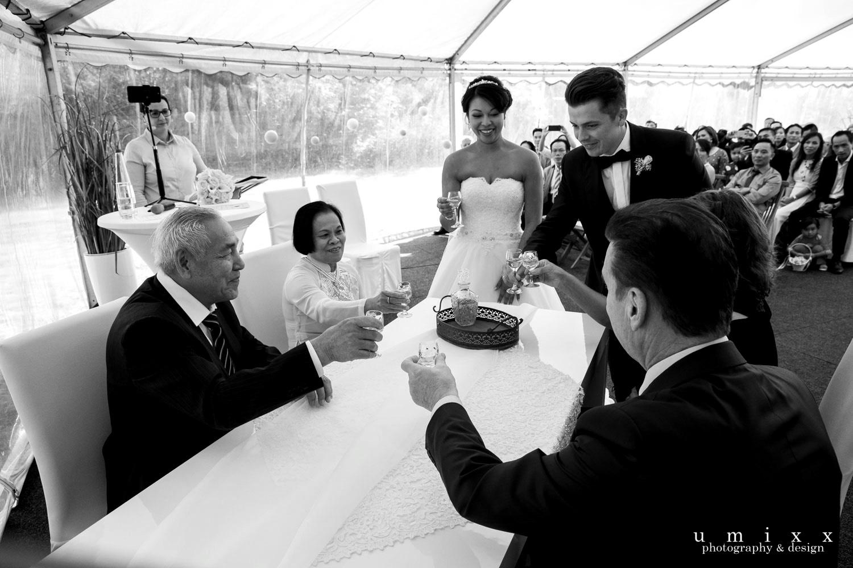 Hochzeitsrednerin Doreen Werding - Danksagung an die Eltern