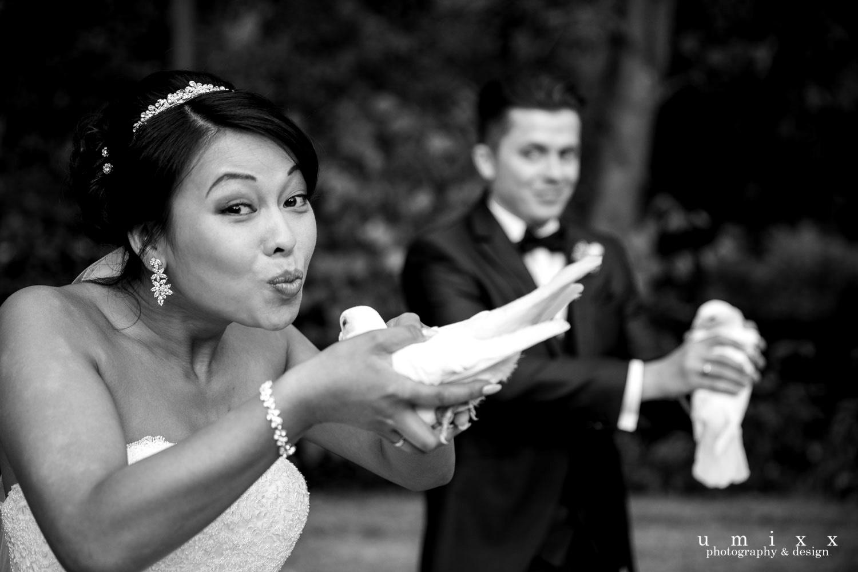 Hochzeitsrednerin Doreen Werding - Tauben als Zeichen der ewigen Liebe