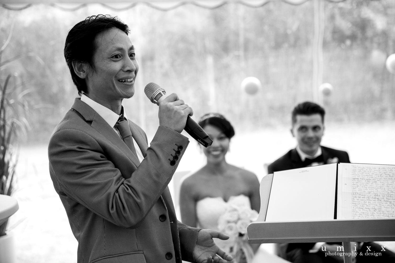 Hochzeitsrednerin Doreen Werding - Herzliche Worte vom Bruder der Braut