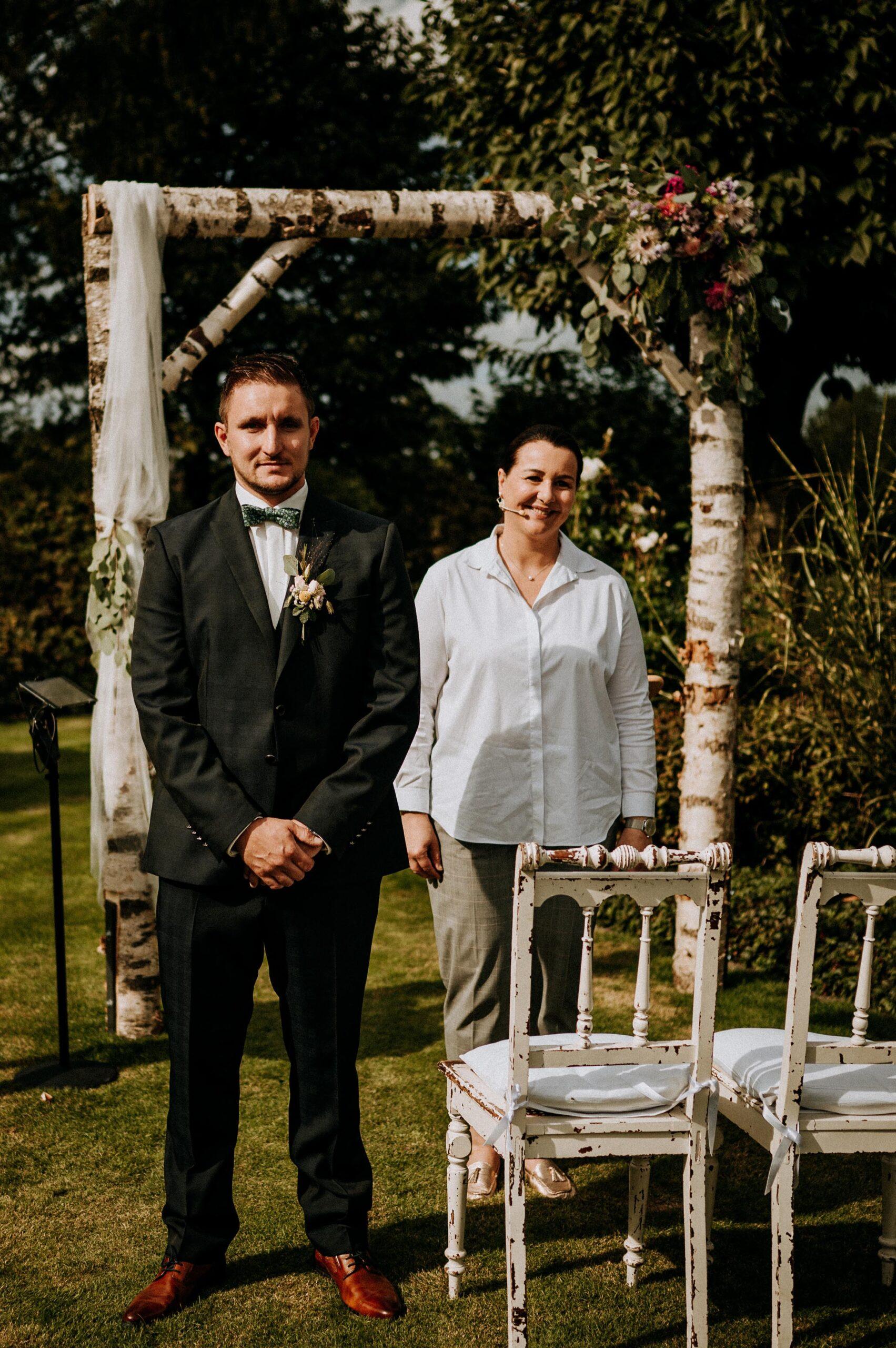 Hochzeitsrednerin Doreen Werding - Die Aufregung steigt