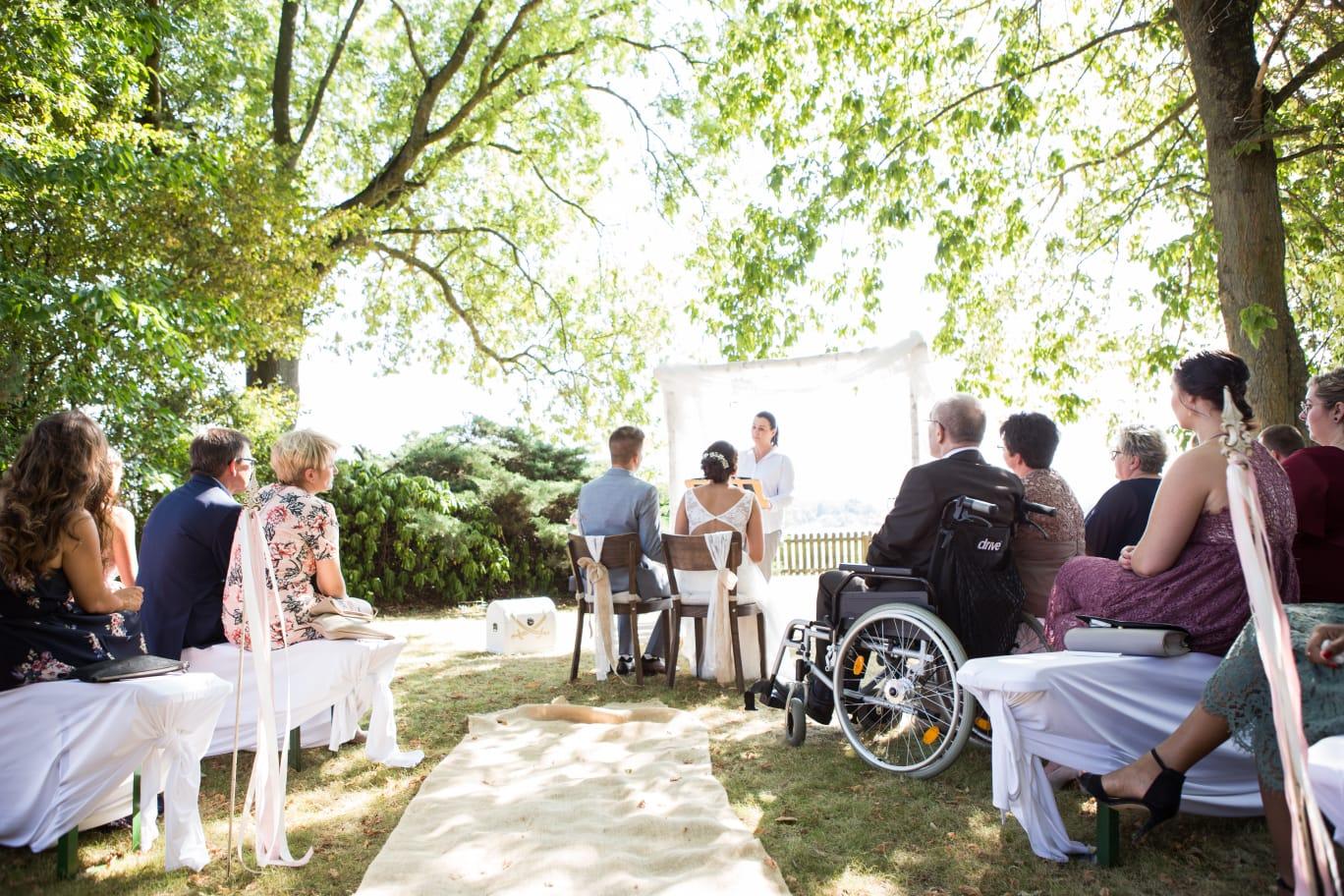 Hochzeitsrednerin Doreen Werding - Trauung Laura und Ramon