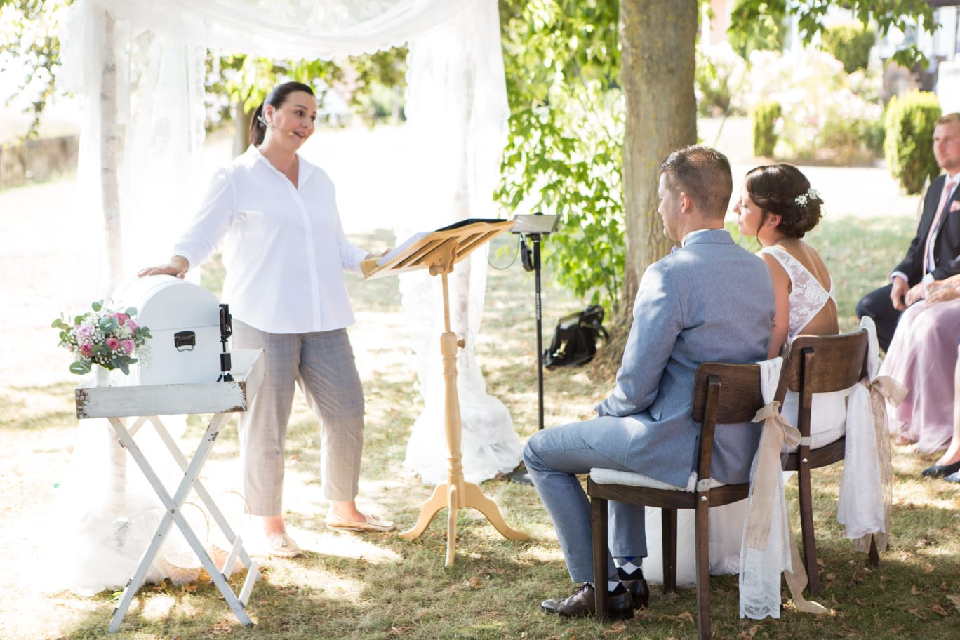 Hochzeitsrednerin Doreen Werding - Das Schatzkistchen