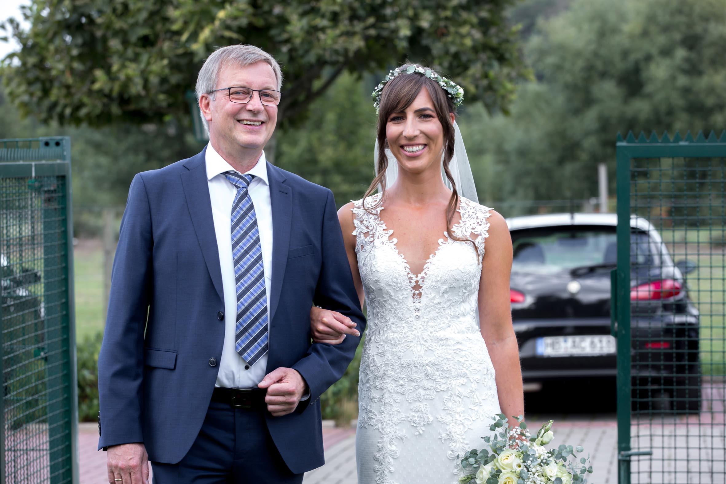 Hochzeitsrednerin Doreen Werding - Die Brautführung
