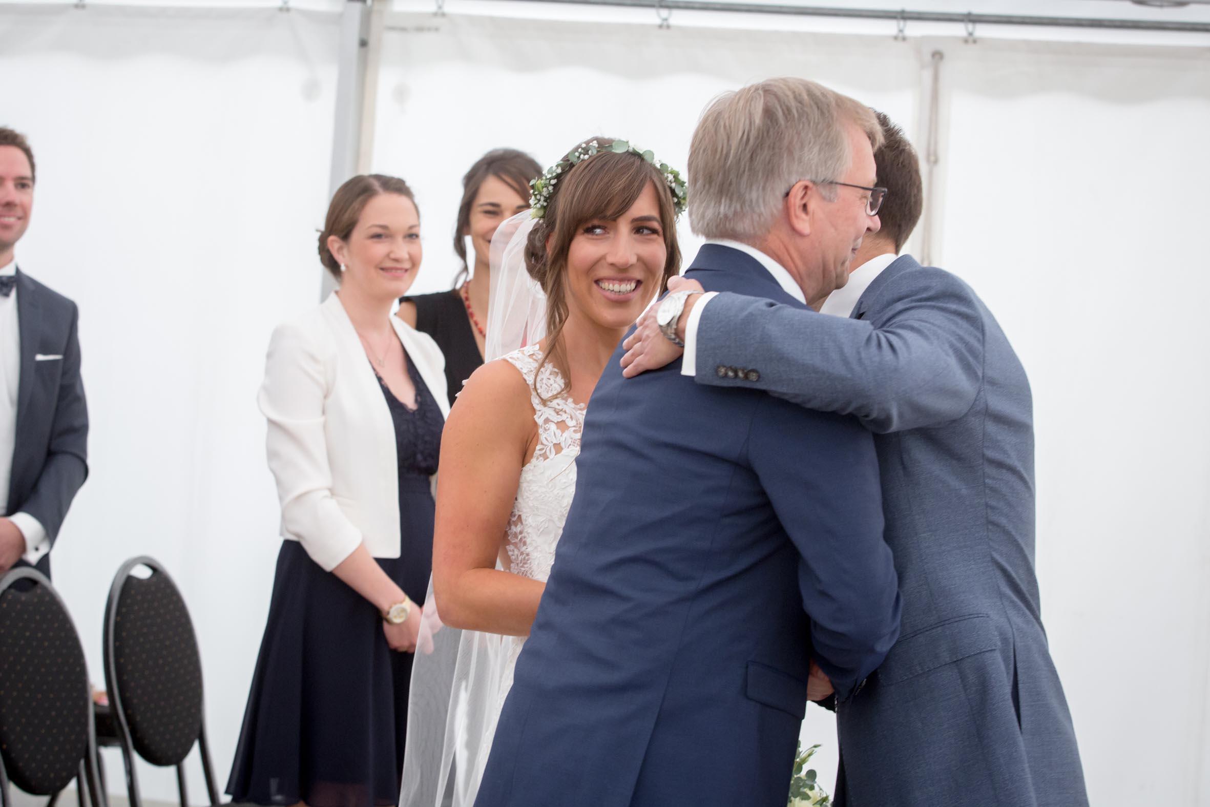 Hochzeitsrednerin Doreen Werding - Die Übergabe der Braut
