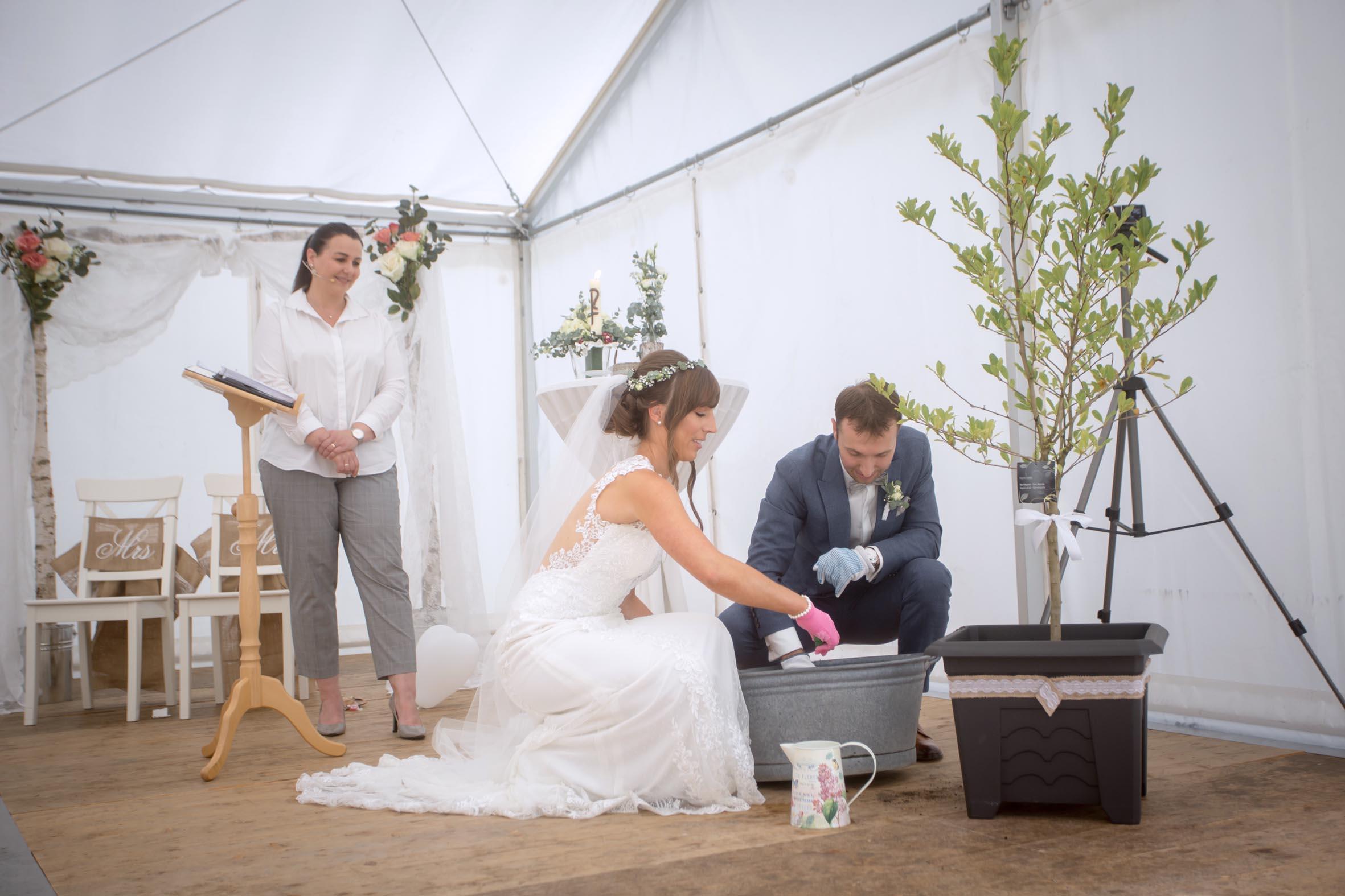 Hochzeitsrednerin Doreen Werding - Das Wunschbäumchen