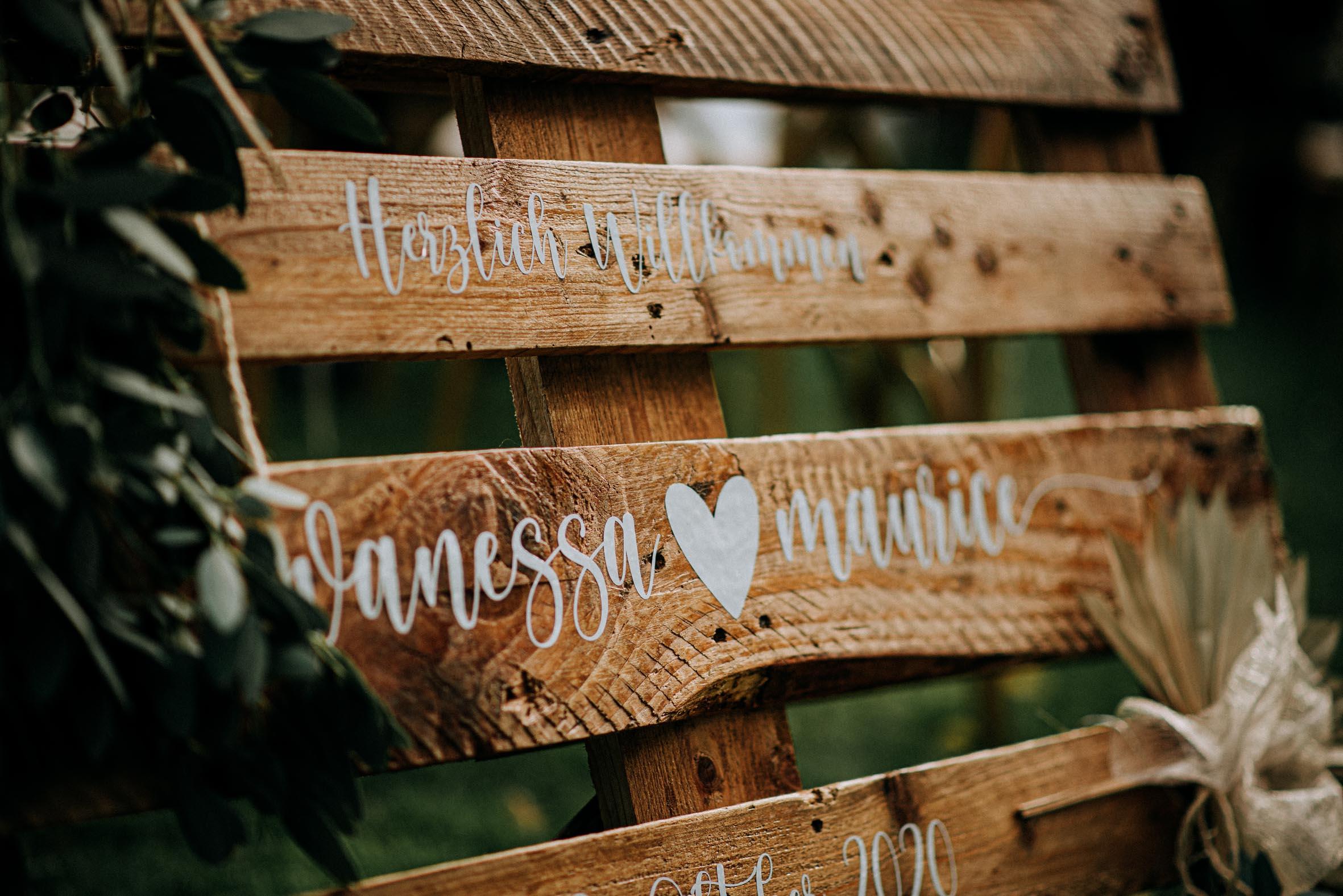 Hochzeitsrednerin Doreen Werding - Freie Trauung von Vanessa & Maurice